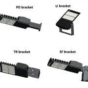 Different brackets 100W-200W